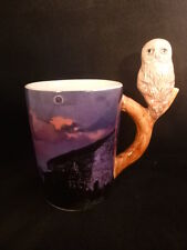Novelty ceramic Tawney owl standard sized mug The owl sits on top of the handle