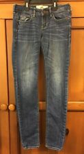 Hollister OS Stretch Skinny Jeans  W 24 L 29 EUC Juniors