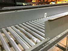 """28"""" Buschman Gravity Roller Conveyor 1.9"""" on 3"""" Centers 10' Long Many Available!"""
