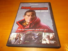 PARTS 1 & 2 Region 2 DVD Born Survivor Bear Grylls ULTIMATE SURVIVAL GUIDE 1 & 2