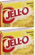 Jello limone gelatina dessert 85g (confezione da 2)