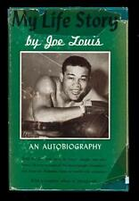 My Life Story Boxing Heavyweight Champion Joe Louis Signed Autobiography Book!