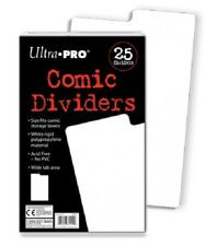 (25-Pack) Ultra Pro Comic Book Dividers All Size Comics Wide Write On Index Tab