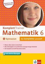 KomplettTrainer Mathematik 6. Klasse Gymnasium (Taschenbuch), neuwertig, ab 1 €
