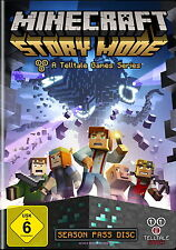 Minecraft: Story Mode - A Telltale Games Series (PC, 2015, DVD-Box)