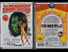 Incredibly Strange Creatures Who Stopped Living Became Mixed-Up Zombies New DVD