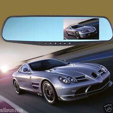 """Full HD 1080P 4.3"""" LTPS Telecamera Dash Cam Specchietto Retrovisore Auto"""