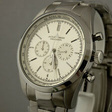 Jacques Lemans Chronograph Quarz Stahl - NEU