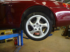 "PORSCHE 996 TURBO TECHNOLOGY 7.5J 10J x18"" ALLOY WHEELS  993 TURBO HOLLOW ALLOYS"