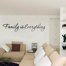 Family is Everything Removable Home Decor Art Vinyl Quote Wall Stickers New 1Pcs