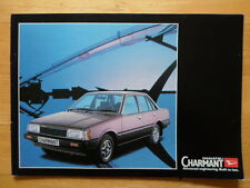 DAIHATSU Charmant orig 1982 UK Market sales brochure
