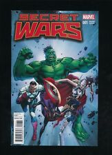 SECRET WARS #1 1:25 BUTCH GUICE VARIANT EDITION MARVEL COMICS 2015