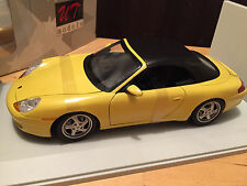UT Models - Porsche 911 Cabrio (Soft Top) Yellow - NEW BOXED in MINT CONDITION