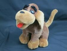 1997 SUGARLOAF BROWN HOUND DOG PUPPY ADORABLE EYEBROWS PLUSH STUFFED ANIMAL 14""