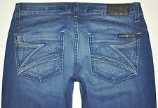 Dylan & George New Crew Alexandra Flare Jeans 27 X 34.5 Stretch Long AWESOME EUC