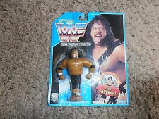 SAMU wwf HASBRO wrestling FIGURE moc BLUE CARD SERIES 10
