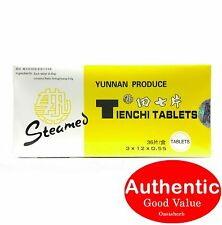Camellia brand Yunnan Produce Tienchi Tablets Steam for Blood Circulation (New!)