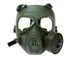 M04 Wargame Airsoft Paintball Dummy Gas Mask Protective Gear Anti Fog Turbo Fan