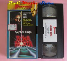 film VHS cartonata LA ZONA MORTA Martin Sheen Stephen King 1983  (F12 * ) no dvd