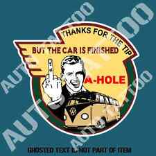THANKS FOR THE TIP KOMBI Decal Sticker Vintage Americana Rat Rod Hot Rod Decals
