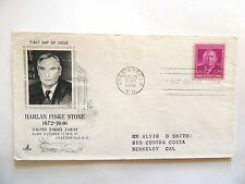 "August 25th, 1948  ""Harlan Fiske Stone"" United States Jurist 1st Day Issue"