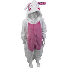 Kid's Rabbit One Piece XXL Character Onesie Children's All in One Pockets SALE
