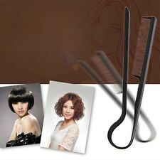 DIY Styling Straightening V Comb Clip-Type Hairdressing Hair Straightener KT