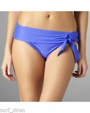 SEAFOLLY Ladies Sash Band Bikini Bottom Pant Size 18 BNWT RRP $59.95 SPA BLUE