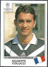 PANINI UEFA CHAMPIONS LEAGUE 1999-00- #268-BORDEAUX-GIUSEPPE COLUCCI
