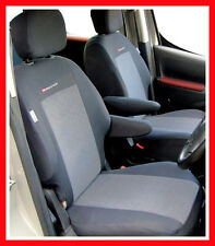 Tailored Seat covers for Peugeot Partner  Van 1 + 1    2008 - on   PATTERN 1