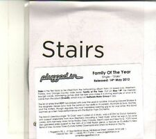 (DT806) Family Of The Year, Stairs - 2012 DJ CD