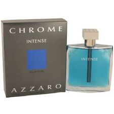 Chrome Intense by Azzaro 3.4 oz EDT Cologne for Men New In Box