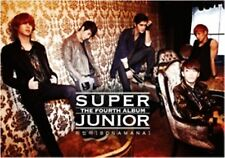 K-POP SUPER JUNIOR 4th Album [Bonamana] A Ver. CD Sealed Music CD