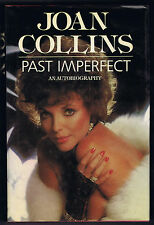 JOAN COLLINS PAST IMPERFECT AN AUTOBIOGRAPHY - 1984 1st US Print - 24 Pgs BW Pic