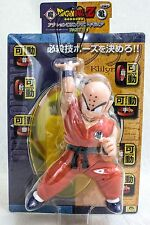 Dragon Ball Z Krillin Action DX Sofubi Figure 2 Banpresto JAPAN ANIME MANGA