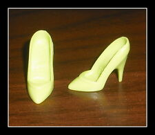 SHOES MATTEL BARBIE DOLL BIRTHSTONE AUGUST LIME GREEN PUMPS HIGH HEEL ACCESSORY