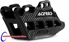 NEW 2016 KXF450 KAWASAKI ACERBIS HIGH QUALITY CHAIN GUIDE BLACK / CARBON EFFECT