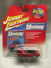 1964 1/2 FORD MUSTANG CONVERTIBLE     JOHNNY LIGHTNING MUSTANG  1:64 (AE)