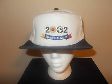 VTG-2002 Korea World Cup of Soccer military style flat top 5 panel hat sku4