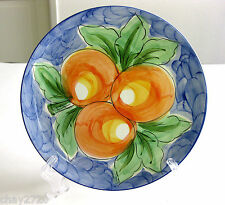 RB ALCOBACA HAND PAINTED MADE IN PORTUGAL SALAD PLATE