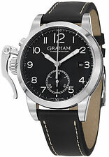 GRAHAM Chronofighter 1695 AUTO Gents Watch 2CXAS.B02A.L17S - RRP £4300 NEW