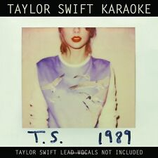 Taylor Swift Karaoke: 1989 [CD/DVD] Karaoke (CD Apr-2015 Big Machine Records)