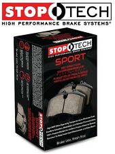 Honda Civic Acura Rear Set Sport Disc Brake Pads StopTech High Friction 30903740