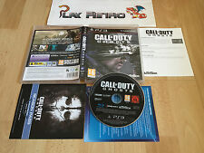 PLAY STATION 3 PS3 CALL OF DUTY GHOSTS COMPLETO PAL UK