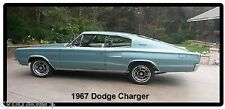 1967 Dodge Charger Auto Refrigerator/Toolbox Magnet