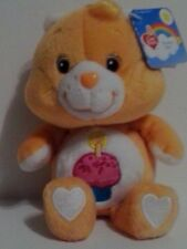 "2002 8"" BIRTHDAY CARE BEAR CARLTON PLAY ALONG 20th ANNIVERSARY NWT MINT"