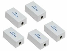 5 x CAT6 CAT 6 Junction Box Type 110 & Punch Down Ethernet Extender Adapter UL