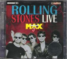 "ROLLING STONES - RARO DOPPIO VIDEO CD "" LIVE AT THE MAX """