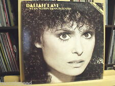 "★★ 12"" LP - DALIAH LAVI - Wenn Schon Dann Intensiv - FOC - Club Edition 40305 5"