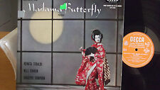 MADAMA BUTTERFLY RENATA TEBALDI ON DECCA FFRR RECORDS PUCCINI UK IMPORT